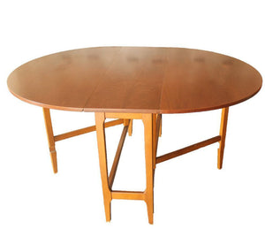 Drop Leaf Dining Table 58""