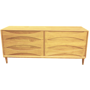 Arne Vodder Lowboy (Ash) - Repro Furniture