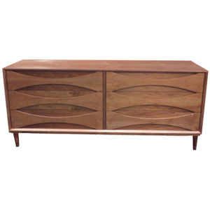 Arne Vodder Lowboy (Walnut) - Repro Furniture