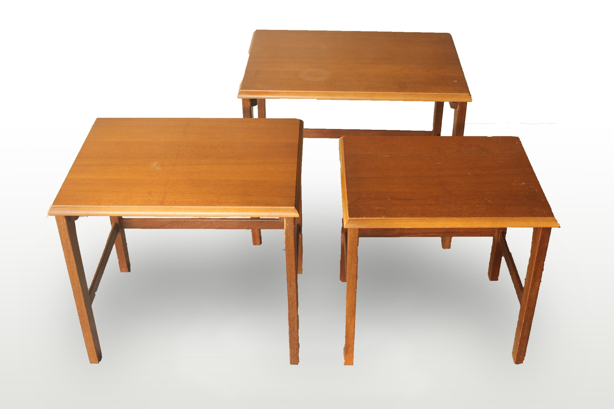 Nest of 3 table - Repro Furniture