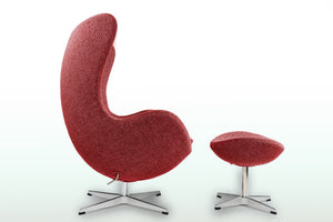 Egg Chair with Stool