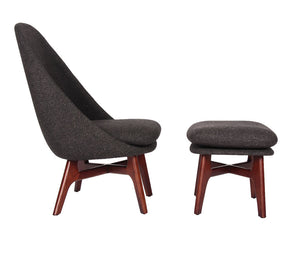 Solo Lounge Chair and Ottoman