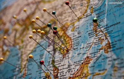 Gift ideas scratch world map erasable world map posters mynewlands how to track your travels around the world gumiabroncs Images
