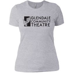 Glendale Community Theatre - Next Level Ladies' Boyfriend Tee