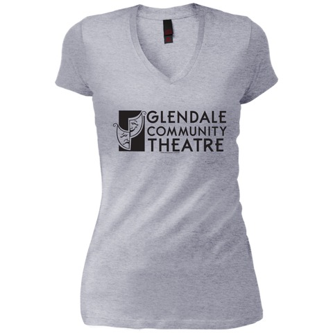 Glendale Community Theatre - Junior Vintage Wash V-neck Tee