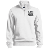 Clone Club - Tall Quarter-Zip Embroidered Sweatshirt