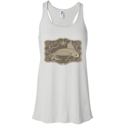 Belt Buckle - Bella+Canvas Flowy Racerback Tank