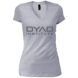 DYAD - Junior Vintage Wash V-neck Tee