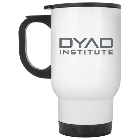 DYAD - White Travel Mug