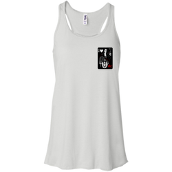 Playing Card - Bella+Canvas Flowy Racerback Tank