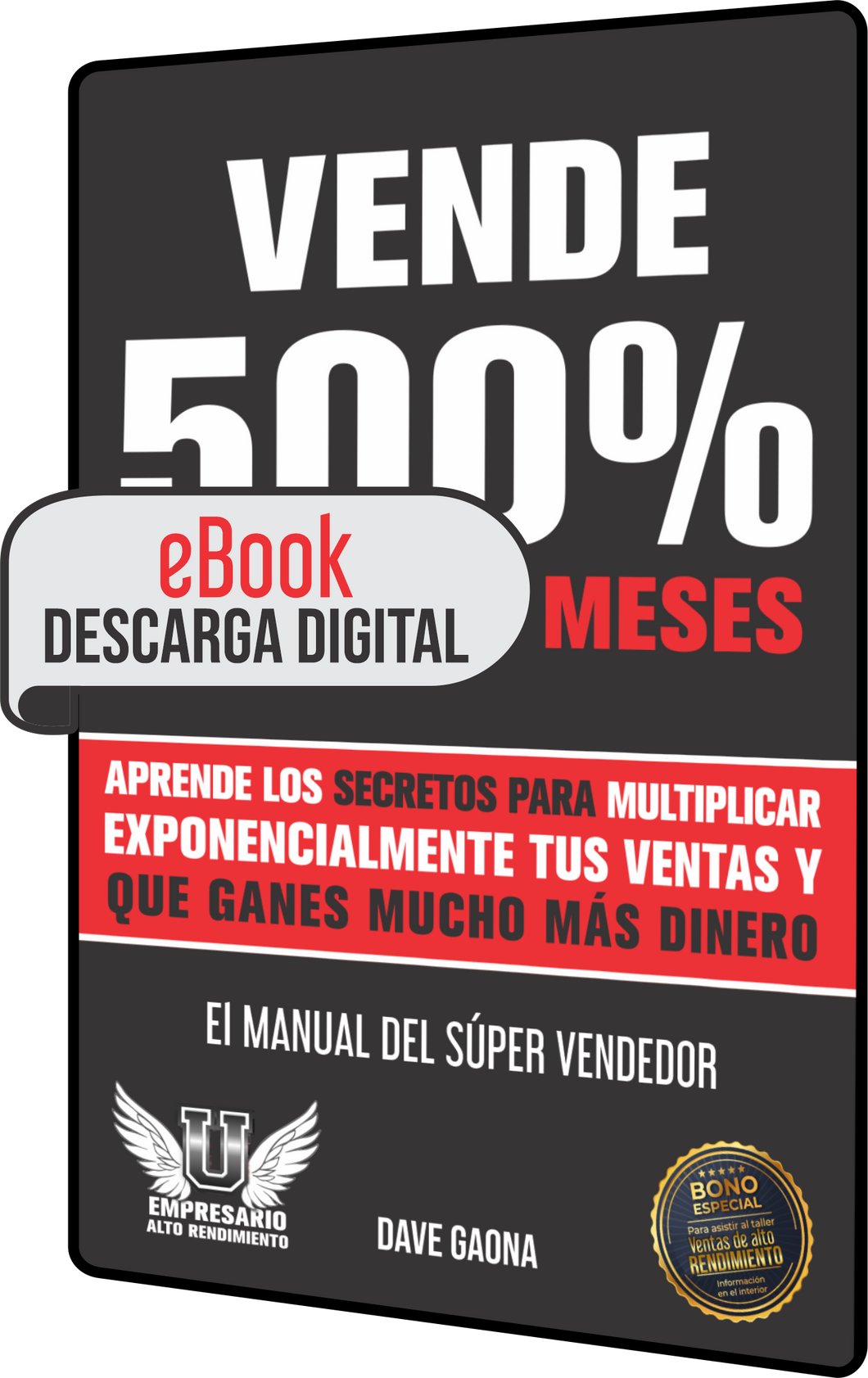 eBook - Vende 500% más en 6 meses (Manual $úper Vendedor) Descarga