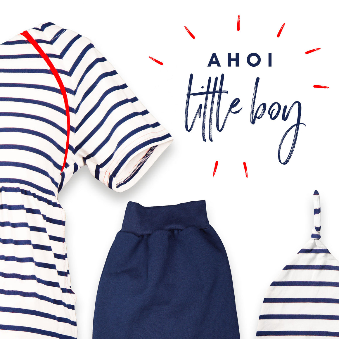 "Set ""Ahoi little Boy"""