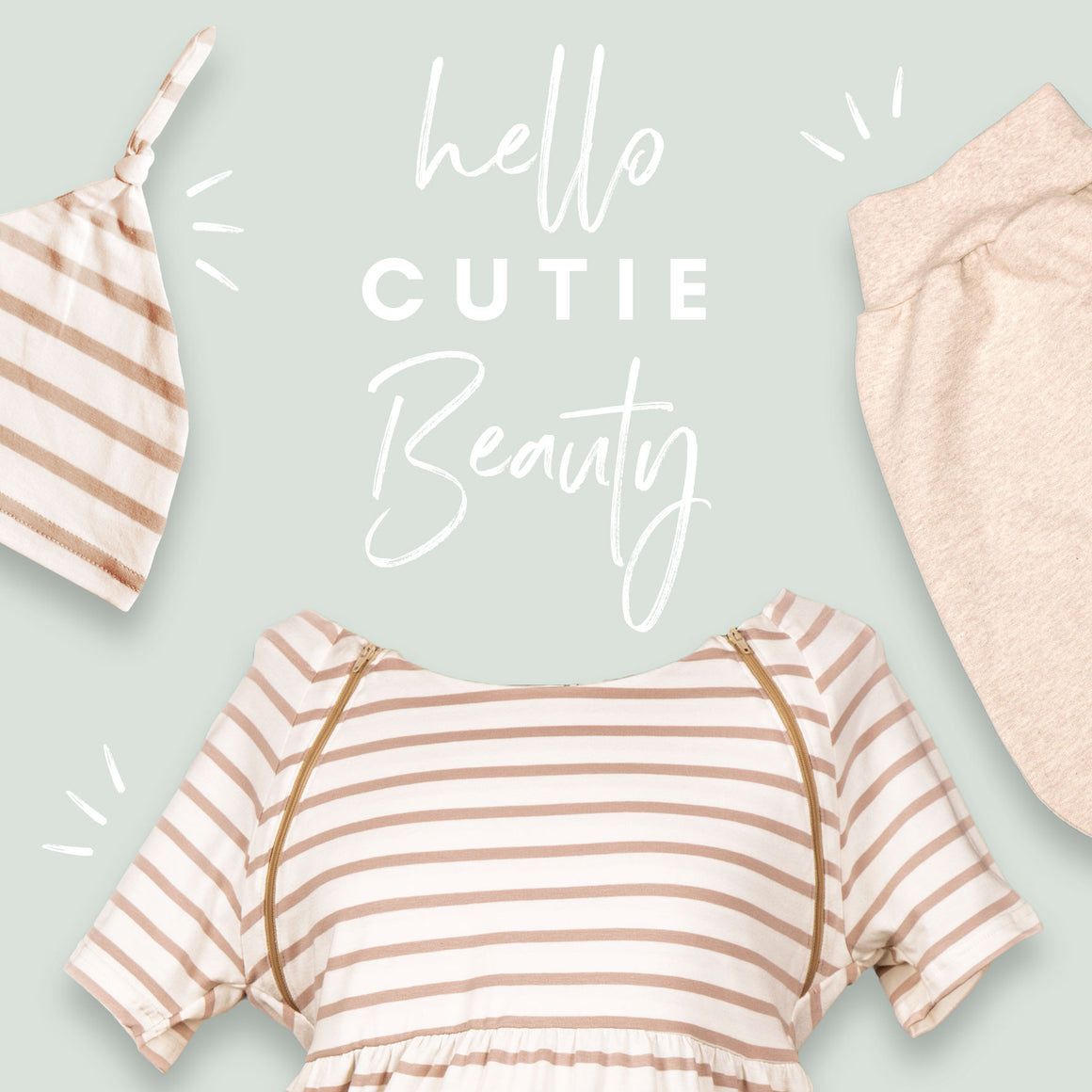 "Set ""Hello Cutie Beauty"""