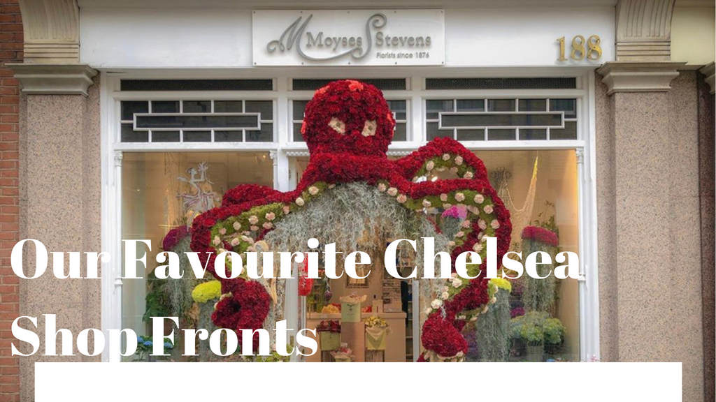 Our Favourite Chelsea Flower Show Shop Fronts