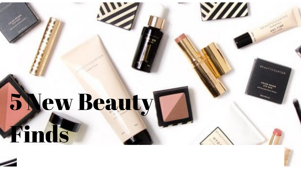 5 New Beauty Finds