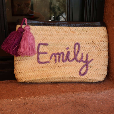 Personalised Tassle Clutch