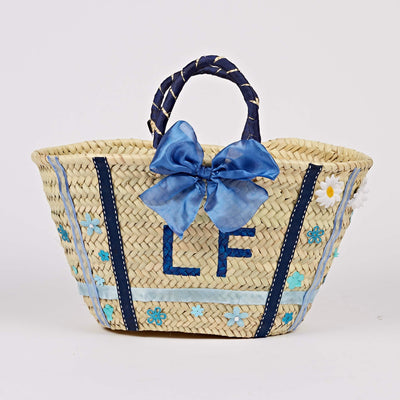 Love In A Box Blue Basket