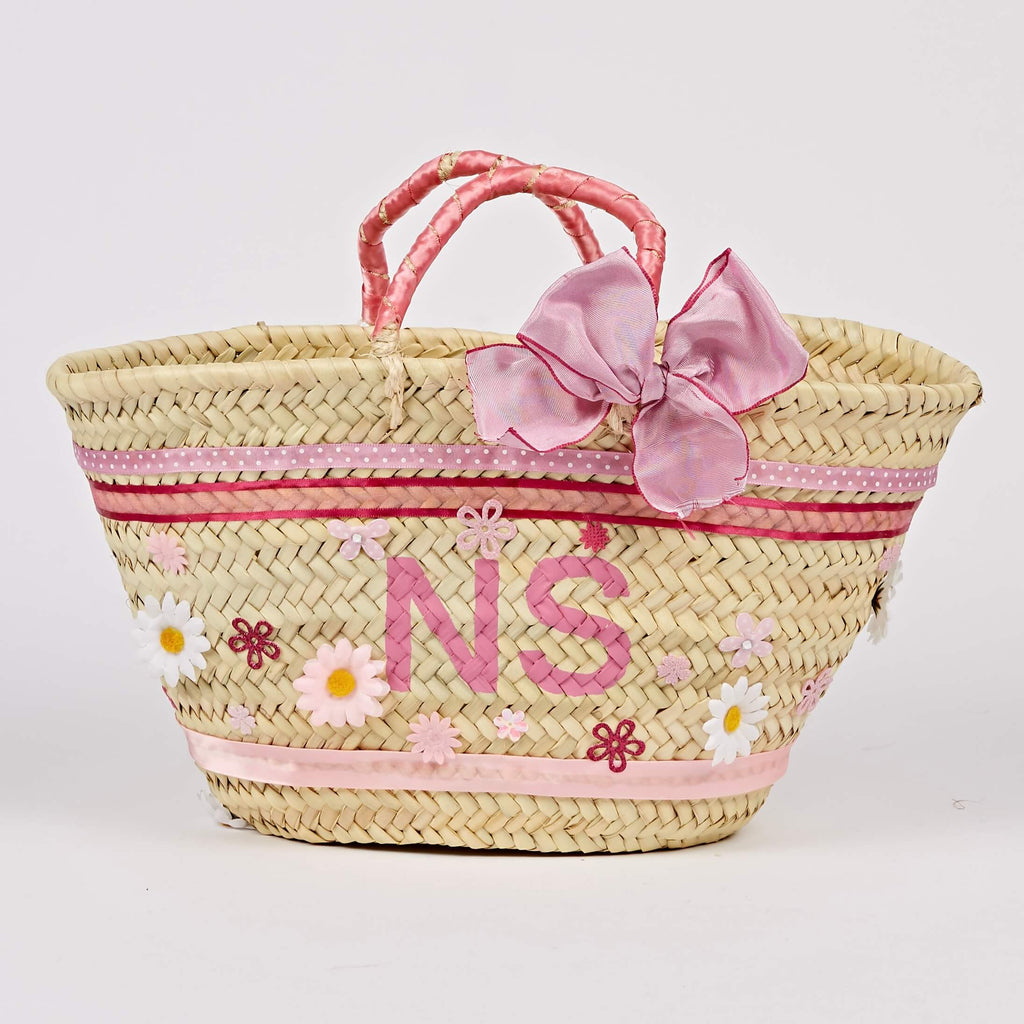 Love In A Box Pink Basket