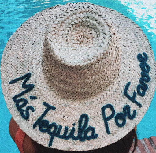 Personalised Straw Hat