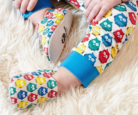 poco nido owl mini shoes