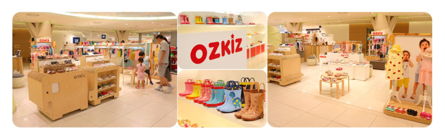ozkiz store is display
