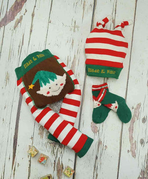 Blade and Rose Elf Socks 小精靈毛毛嬰兒襪 (一對)-Blade and Rose-shopababy