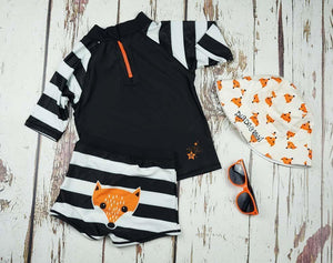 Blade and Rose FOX SWIM PANT 孤狸短泳褲-Blade and Rose-shopababy