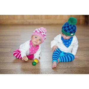 Blade and Rose Pink Bobble Hats 粉紅嬰兒冷帽-Blade and Rose-shopababy