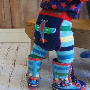 Blade and Rose Plane Rainboots 飛機嬰兒水鞋-Blade and Rose-shopababy