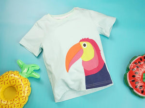 Blade and Rose TOUCAN TEE 大咀鳥短袖衫-Blade and Rose-shopababy