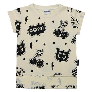 Cribstar Yay Cream Baby T-Shirt YAY 短袖衫-Cribstar-shopababy