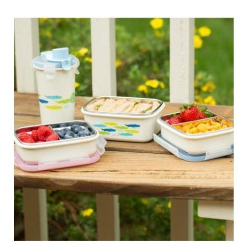 Innobaby 15oz Stainless Steel Bento Lunchbox 不銹綱飯盒 (4個顏色)-Innobaby-shopababy