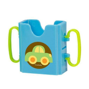 Innobaby Juice Holder Blue 藍色嬰兒果汁盒-Innobaby-shopababy