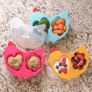 Innobaby Silicone Chicken Steamer with Lid 叮叮雞雞蒸籠連蓋 (3個顏色)-Innobaby-shopababy