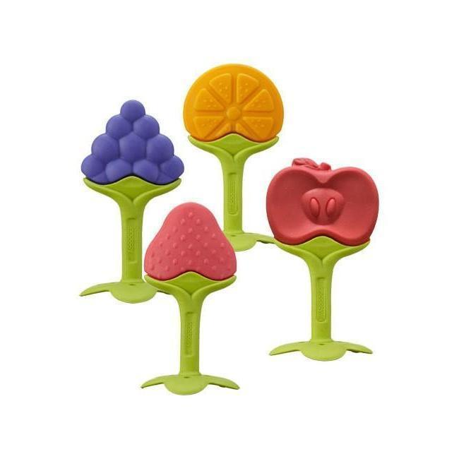 Innobaby Teether Strawberry 嬰兒士多啤利牙膠-Innobaby-shopababy