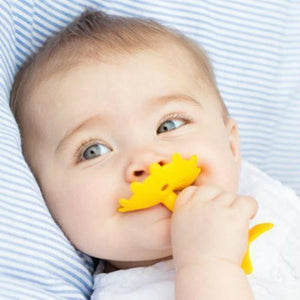 Innobaby Teether Yellow Flower with Rattle 嬰兒黃花花牙膠(有聲)-Innobaby-shopababy