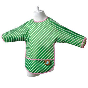 Jaq Jaq Bird Waterproof Long Sleeve Bib 防水口水肩-ShopaBaby-shopababy
