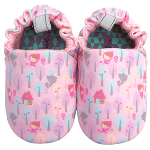 jplusJ Little Red Riding Hood Pink Baby Shoes 粉紅小紅帽學步鞋(18-24)