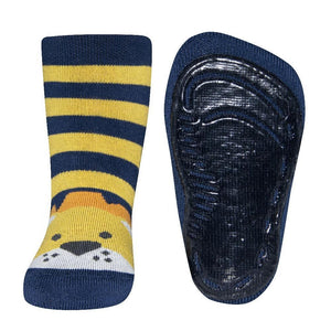EWERS _BABY_ANTI_SLIP_SOCKS_NAVY_LION