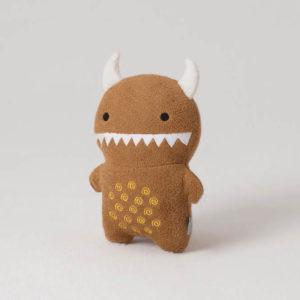 Noodoll 18CM Brown Ricemon Plush Toy 啡色米餅怪公仔-Noodoll-shopababy