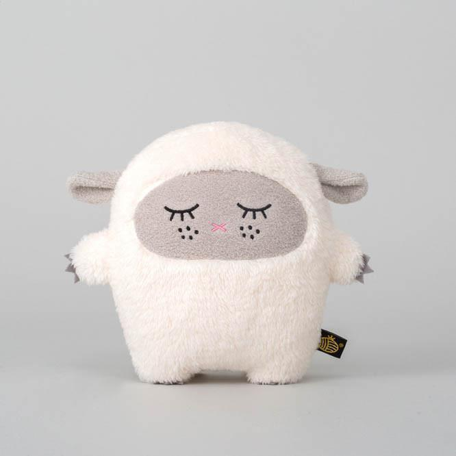 Noodoll 18CM Grey Sheep Ricewool Plush Toy 灰羊咩公仔-Noodoll-shopababy