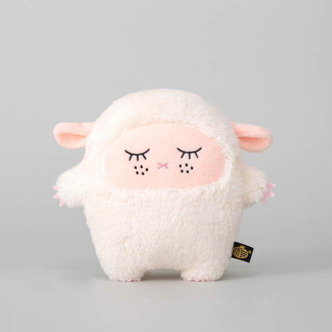 Noodoll 18CM Pink Sheep Ricemere Plush Toy 粉羊咩公仔-Noodoll-shopababy