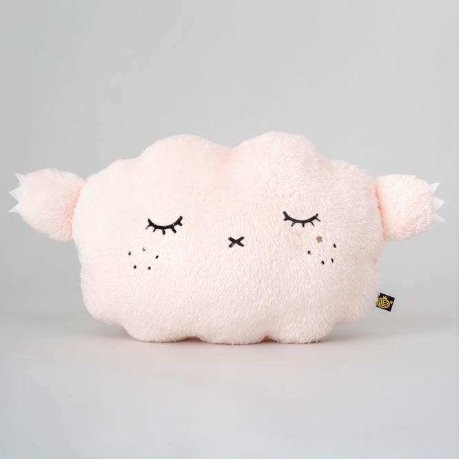 Noodoll 30CM CUSHION Pink Cloud Ricesnore 毛毛香檳雲箍臣-Noodoll-shopababy