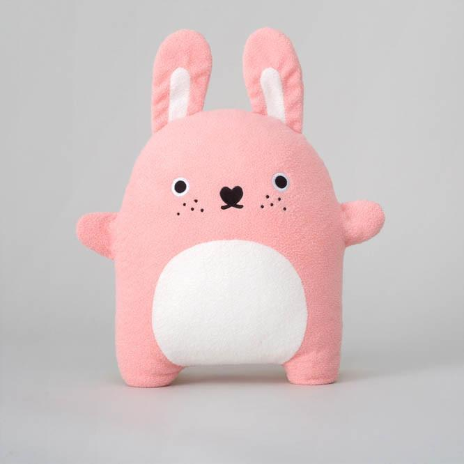 Noodoll 30CM CUSHION Pink Rabbit Ricecarrot 粉紅兔箍臣-Noodoll-shopababy