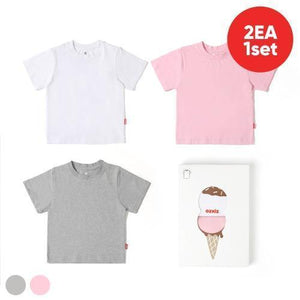 Ozkiz 100% Cotton Ice-cream Tee Set (2pcs) (100-140) ozc305-Ozkiz-shopababy