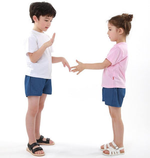 Ozkiz Sandals White and Pink 白/粉涼鞋 (140-170) oz109-Ozkiz-shopababy