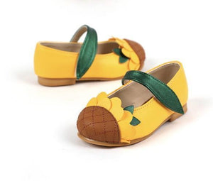 Ozkiz Sunflower Dress Shoes 可愛向日葵嬰童鞋 (140-180) oz081-Ozkiz-shopababy