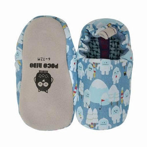 Poco Nido Snowman Mini Shoes 雪人嬰兒學步鞋-Poco Nido-shopababy