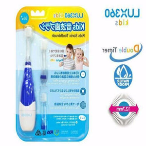 Vivatac 360 Kids Sonic Toothbrush Blue Set-Vivatec-shopababy