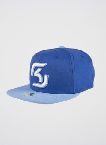 SK Gaming Snapback Blue-White